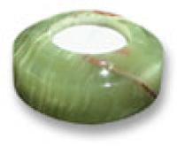 Aragoniet sfeerlicht cylinder 7,5 cm