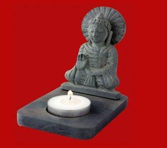 Buddha kaarsenhouder