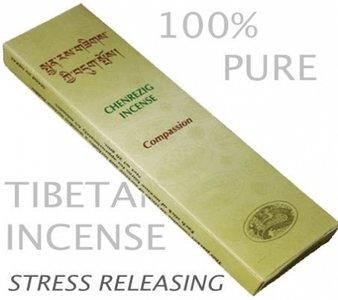 Wierook Tibetaans, Chenrezig 'Compassion'