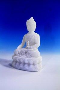 Boeddhabeeldje Bhumisparsa Moedra