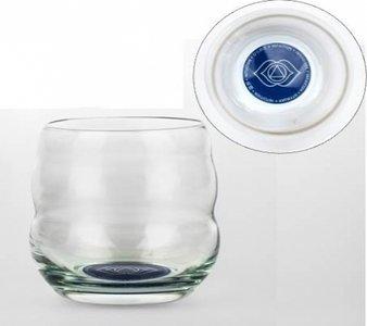 Drinkglas met affirmatie 'INTUÏTIE'
