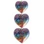 orgone hartvormige hanger
