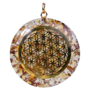 Orgone Flower of life hanger citrien